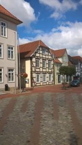 Sanierung des denkmalgeschützten Gebäudes Lange Straße 1